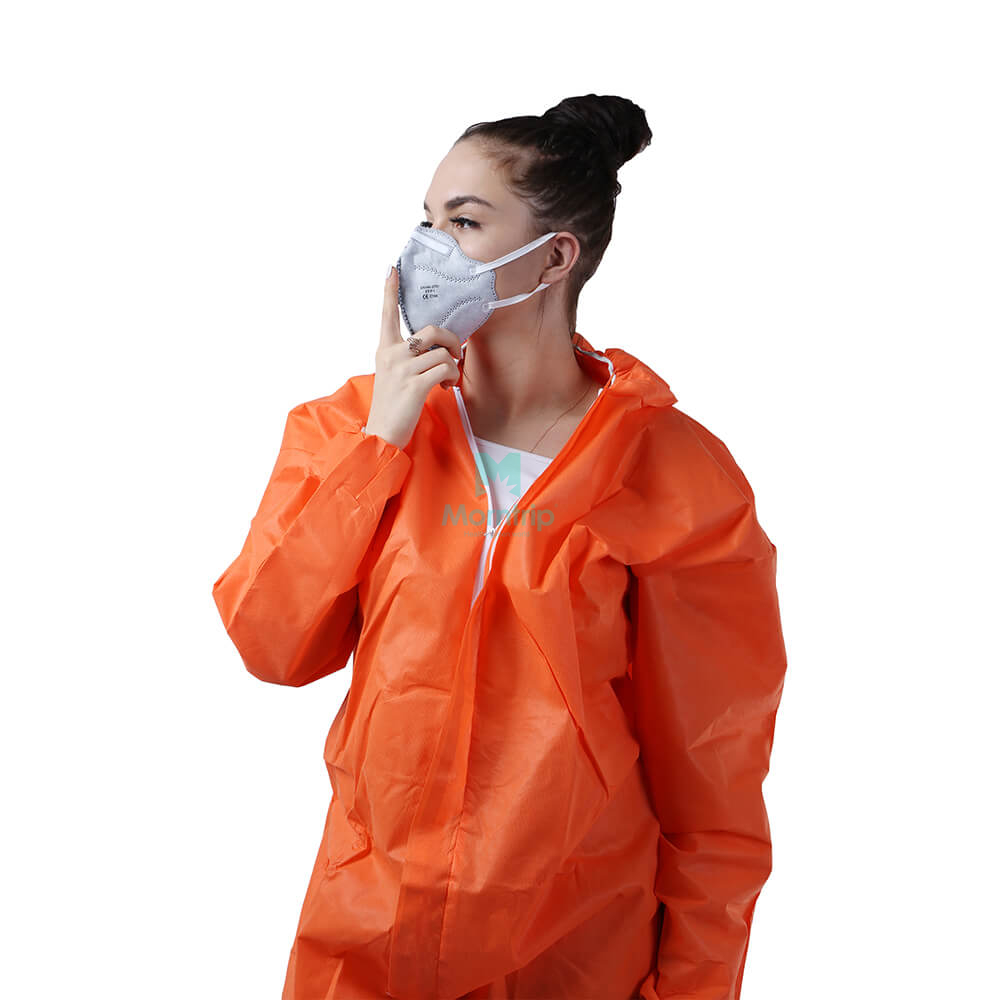 Wholesale Adult Medical Vertical Fold Respirator With Valve