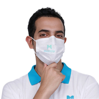 Comfortable Medical Doctor Non Woven Protective Face Mask