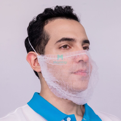 Food Processing Catering Cook Use Disposable Beard Cover Mask