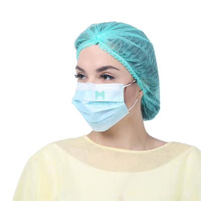 Anti Bacterial Non Woven Pleated Disposable Medical Face Mask