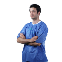 Best Selling Disposable Nurse Scrub Suits for Hospital