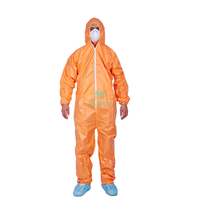 Microporous Hooded Painting Spraying Anti Static Breathable Custom Work Wear Sterile Waterproof Disposable Protective Clothing