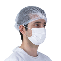 Wholesale Pleated Cleaning Disposable Mob Cap For Catering Industry