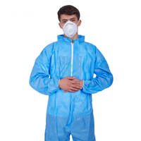 Isolation Non Woven Type 5&6 CE Approved Liquid Resistant Protective Disposable Coverall