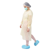 Impervious Knitted Cuffs Isolation Gown