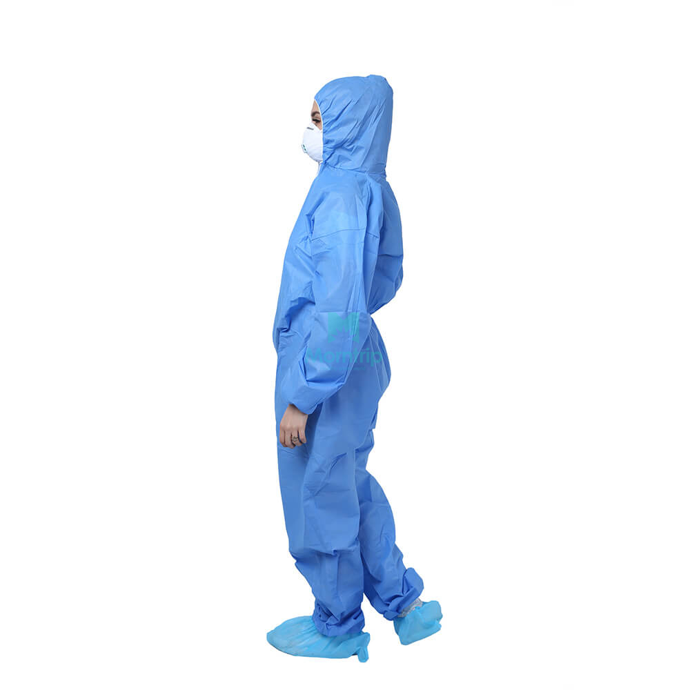 Wholesale Fully Body CE Approved Jumpsuit Non Woven SMS Disposable Coverall