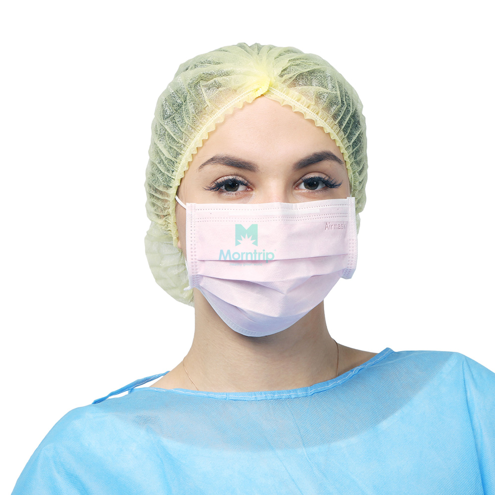 Wholesale Non Woven Safety Hypoallergenic Adjustable Disposable Face Mask