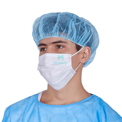 White Non Sterile Hygienic Protective Medical Face Mask