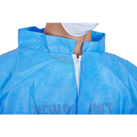 SMS without Hood Anti Static Dustproof Nonwoven Splashproof Disposable Clothing Suit