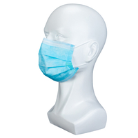 3 Ply Non Woven Comfortable Pleated Wholesale Customized Protective Customized Disposable Medical Face Mask