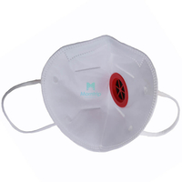 High Quality Protective Vertical Fold Respirator with valve