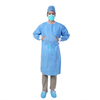Morntrip Insulation Non Woven Polypropylene Procedure Protective Comfortable Isolation Gown Disposable with Knitted Cuffs