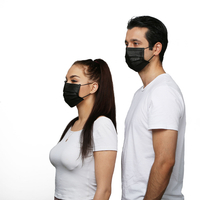 Wholesale 3 Ply Safety Breathable Hypoallergenic Disposable Face Mask