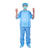 Doctor Medical Uniform Disposable Non Woven Blue Scrub Clothing Suit